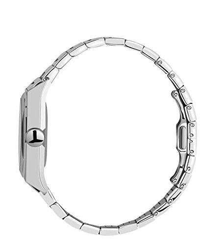 FDC Julklapp klockor herrmode japansk kvarts datum rostfritt stål armband klocka keltiska skatter – tre hundar på silverklocka