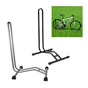 Bike Floor Stand   TOOGOO(R) Sport Cycling Bicycle Bike Single Floor  Parking Rack Garage Storage Stand Holder