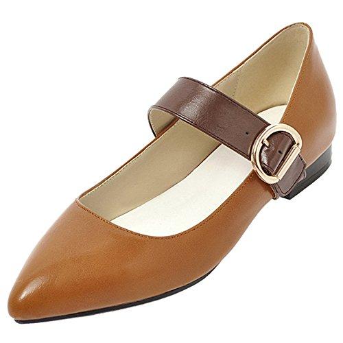 Jane Flats Shoes Pumps Mary Yellow AicciAizzi Women Bwnq64BZ