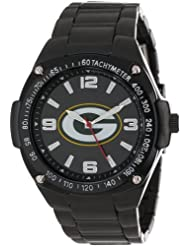 Game Time Unisex NFL-WAR-GB Warrior Green Bay Packers Analog 3-Hand Watch