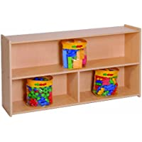 Steffy Wood Products 27-Inch High 2-Shelf Storage