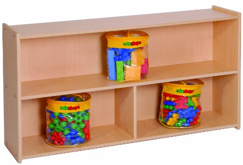 Steffy Wood Products 27-Inch High 2-Shelf ()