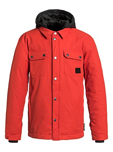 Quiksilver Big Boys' Amplify Youth Jacket, Poinciana, Large/14