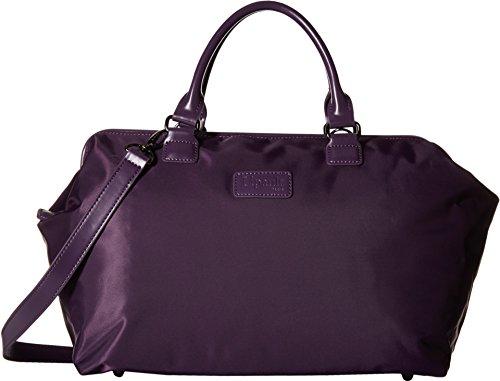 Lipault Paris Women's Bowling Bag (M) Purple Duffel Bag (Pink Ladies Bowling Bag)