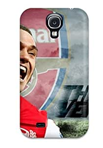 Shock-dirt Proof Thomas Vermaelen Case Cover For Galaxy S4