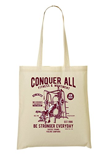 Stronger Movement All à provisions tout And Sac Sac Everyday Be Fitness Sporstman Conquer Fourre waARq