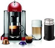 Nespresso VertuoLine Coffee Espresso Maker Machine w/ Milk Frother & 12 Capsules by Nespr