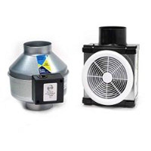 Small Inline Exhaust Fans : Fantech pb series small ″ grille width height