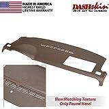 DashSkin Molded Dash Cover Compatible with 07-14 GM SUVs w/o Dash Speaker in Cashmere (USA Made)