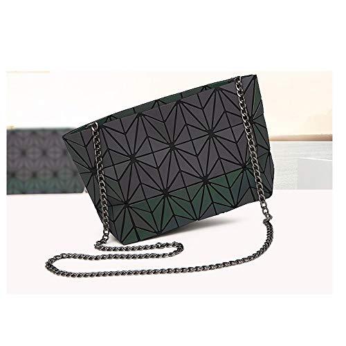 Crossbody Chain Spider Girls Women Geometric Leather Bag Purse Handbag Lattice Magibag for Shoulder Web PU OvEnq