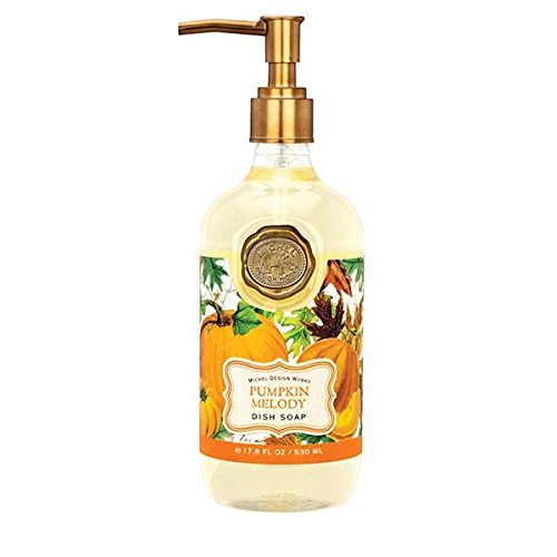 Michel Design Works DS281 Moisturizing Scented Dish Soap, Pumpkin Melody (Pumpkin Moisturizing)