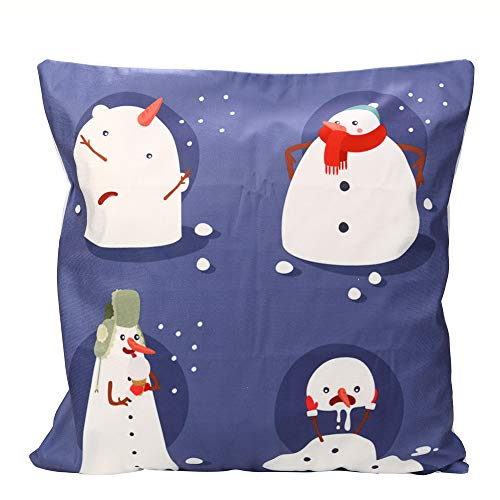 TWGONE Cushion Covers 18 X 18 Christmas Pillow Cases Super Cashmere Sofa Home -