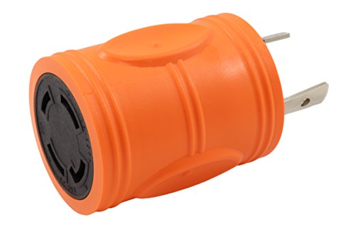 AC WORKS [ADL630L1430] Locking Adapter L6-30P 30Amp 250Volt Locking Plug to 4-Prong 30Amp L14-30R Adapter by AC WORKS (Image #8)