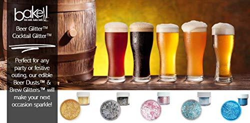 White Beer & Beverage Glitter | 1 lb (450 grams) | Edible Food Grade Beer Glitter, Cocktail Glitter & Beverage Glitter-Dust from Bakell by Bakell (Image #7)