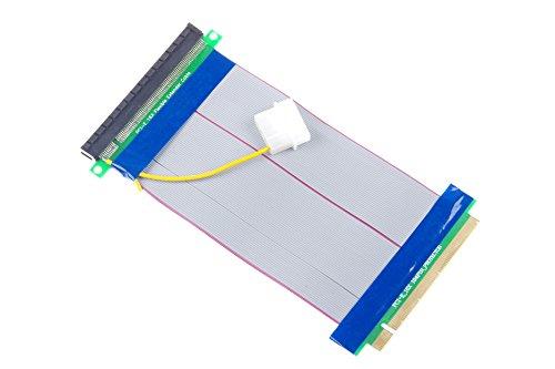 KNACRO PCI-E 16X Extension Cable 164-Pin Graphics Extension Cable External 12V Power Supply by KNACRO (Image #9)