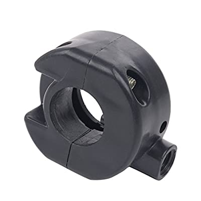 Glixal GY6 50cc 150cc Throttle Clamp Twist Grip Housing for Chinese Scooter Moped TAOTAO,JONWAY,SUNL,PEACE,ZNEN,TANK,ROKETA,JMSTAR (Type-1): Automotive