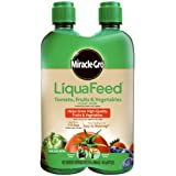 Miracle-Gro LiquaFeed Tomato, Fruits and Vegetables Plant Food Refill Pack, 2 Pack (Liquid Plant Fertilizer)