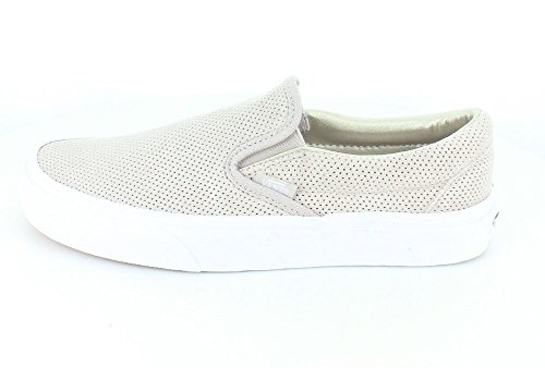 Vans Classic Slip-On, Zapatillas Unisex Adulto Silver Cloud/True White