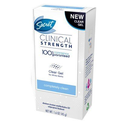 Secret Clinical Strength Completely Cln 1.6Oz, Pack of 18
