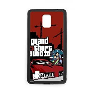 Grand Theft Auto Iii Game Samsung Galaxy Note 4 Cell Phone Case Black PQN6053055382168