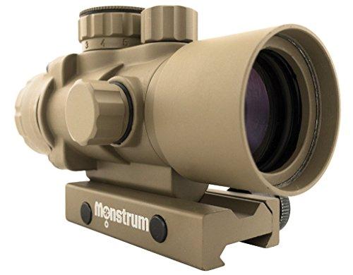 Monstrum Tactical S232P 2X Magnification Prism Scope