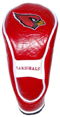 Team Golf NFL Arizona Cardinals Hybrid Golf Club Headcover, Hook-and-Loop Closure, Velour lined for Extra Club ()