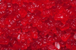 Albanese Confectionery 50111-CASE Gourmet Red Raspberry Gummi Bears - 20 lb Case by Albanese Confectionery