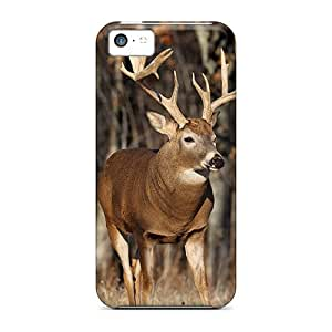 NikRun Fashion Protective Buck In The Meadow Case Cover For Iphone 5c