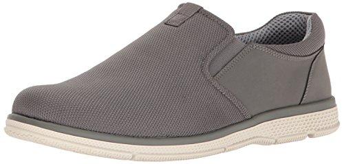 Nunn Bush Men's ZEN Slip-On Loafer, Grey, 8 M US