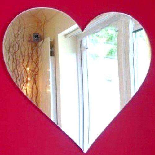 Heart Shatterproof - Heart Mirrors - 50cm x 45cm