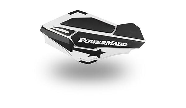HONDA RED//BLACK POWERMADD SENTINAL HANDGUARDS