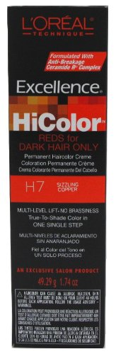 LOreal Excellence HiColor Sizzling Copper