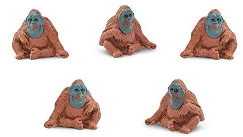 (Safari Ltd. - Good Luck Minis - Orangutans - Set of 10 )