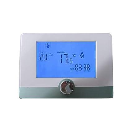 Programable Digital Termostato de pared regulador de temperatura de caldera de gas Sistema de calefacción del