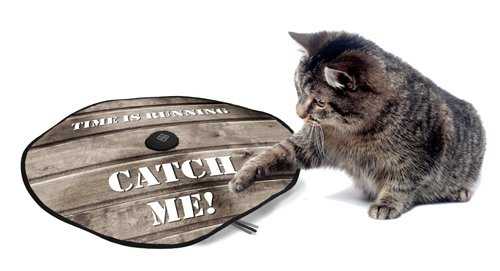 D&D Cat Toy Adventure Undercover Mouse Catch Me/Wood Style, 60cm