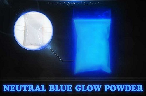 Blue Super Phos Glow Powder by Glonation