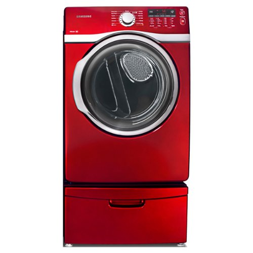 Samsung DV393GTPARA 7.4 Cu. Ft. Red Stackable With Steam ...