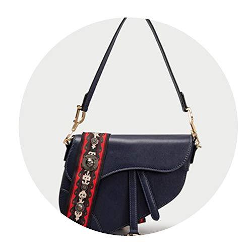Original Quality Real Leather Mochila Luxury Handbags Women Designer Bags Famous Brand D Bolsa Feminina,blue,22cm by 19cm by 4cm
