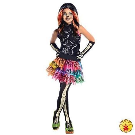 """ELEGANTE TRAJE Monster High """"Skelita calaweras"""" con peluca vestido ..."""