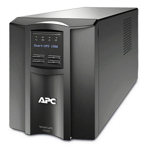 APC SMT1500X413 External UPS, Black