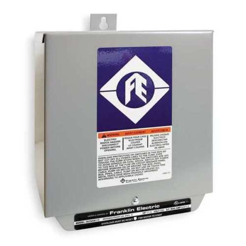 Control Box, 1-1/2HP, 230V, 1Phase by Franklin