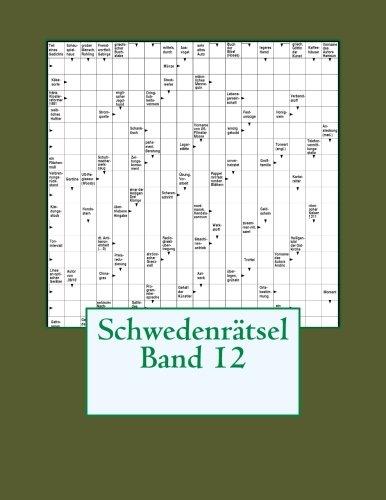 Schwedenratsel Band 12  [Schwedenratsel] (Tapa Blanda)