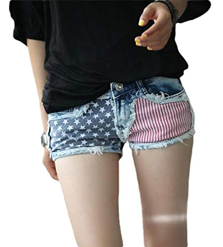 Low Waist Denim Jean Short