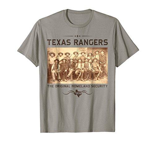 Texas Pride Rangers Cowboys The Original Homeland Security ()