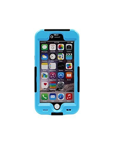iPhone 6S Waterproof Case iPhone 6 Box Heavy Duty Underwater Security Shell Shockproof SnowProof DustProof Cover IP68 Certified Sports & Fitness with Fingerprint Recognition Touch ID for iPhone 6/6S