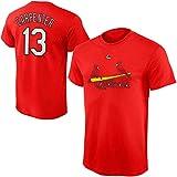 Outerstuff Matt Carpenter St. Louis Cardinals #13 Red Youth Name and Number Jersey T-Shirt