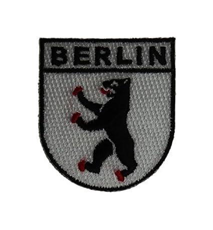 Yantec Wappen Patch Berlin Aufn/äher