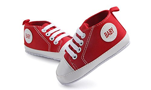 Pictures of WAM Baby Boys Girls Canvas Toddler Sneaker 6