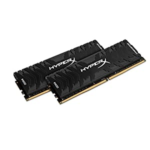 HyperX Kingston 32GB 2666MHz DDR4 Non-ECC CL13 DIMM (Kit of 2) XMP Predator (HX426C13PB3K2/32) - 32GB Kit (2 x 16GB) 41Lh7j430tL. SS300
