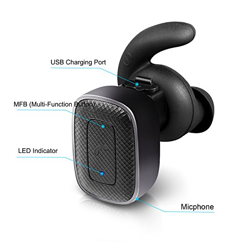 true wireless earbuds bestfy bluetooth headphones stereo in ear headsets with mic for android. Black Bedroom Furniture Sets. Home Design Ideas